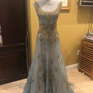 Reem Acra Couture Gown sz 6